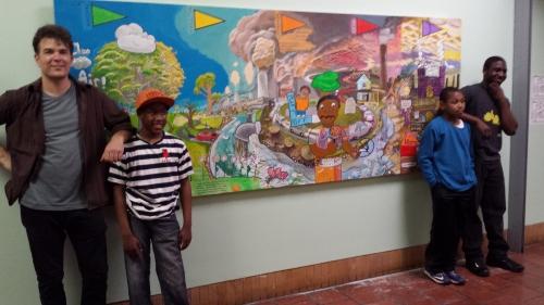AQI Mural